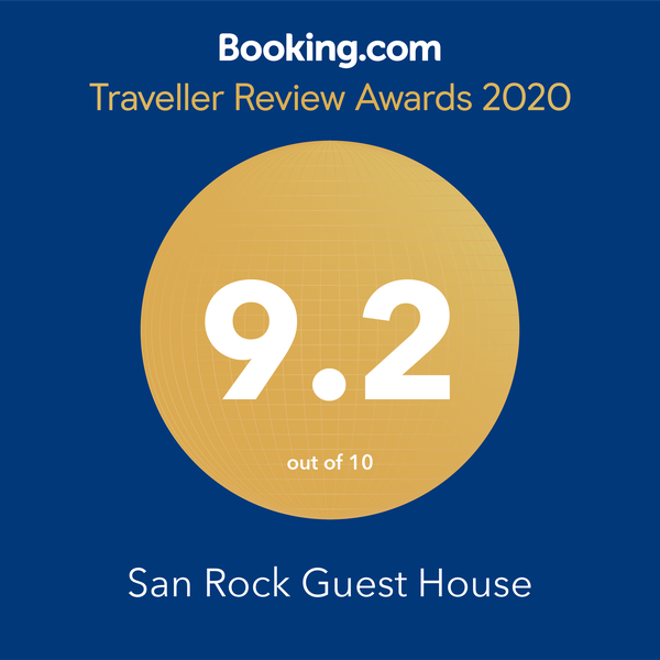 San Rock Guest House Traveller Review Awards 2020